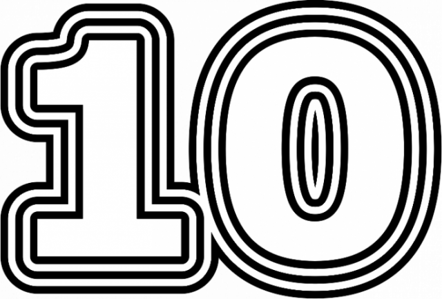 10 число