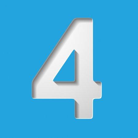4 цифра