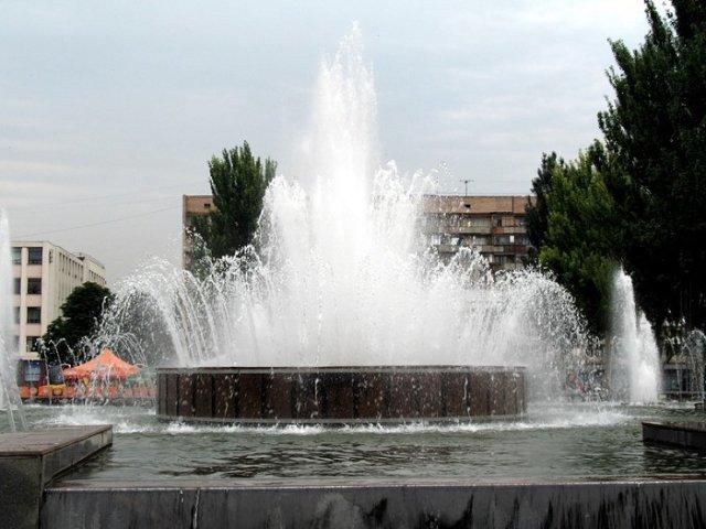фестивалка в Запорожье фонтан