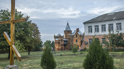 Замок Попова. Крест