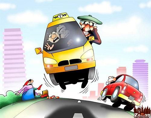 маршрутка (карикатура)