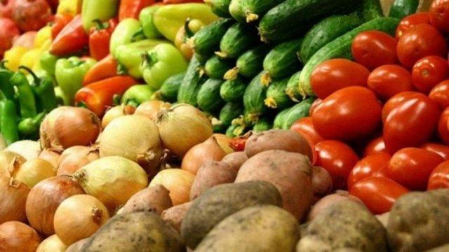 Овощи красивые