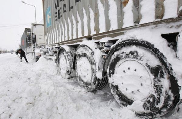 снежный затор