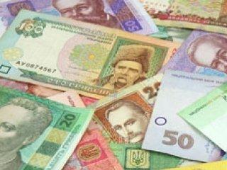 Деньги (купююры по 10, 20, 50 гривен)